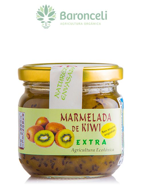 Mermelada de Kiwi sin azúcar