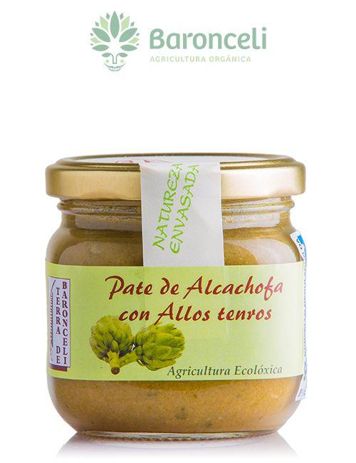 Paté de alcachofas